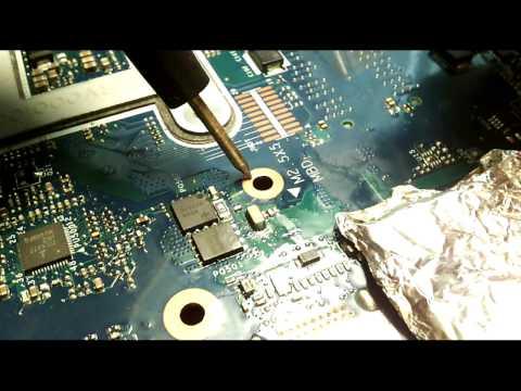 Samsung NP355V5C QMLE4 LA-8863P rev 2.0 (кз на плате, схема, как починить)