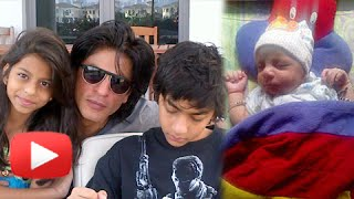 Who Does Shahrukh Khan Love The Most - Suhana, Aryan Or Abram? - MUST WATCH