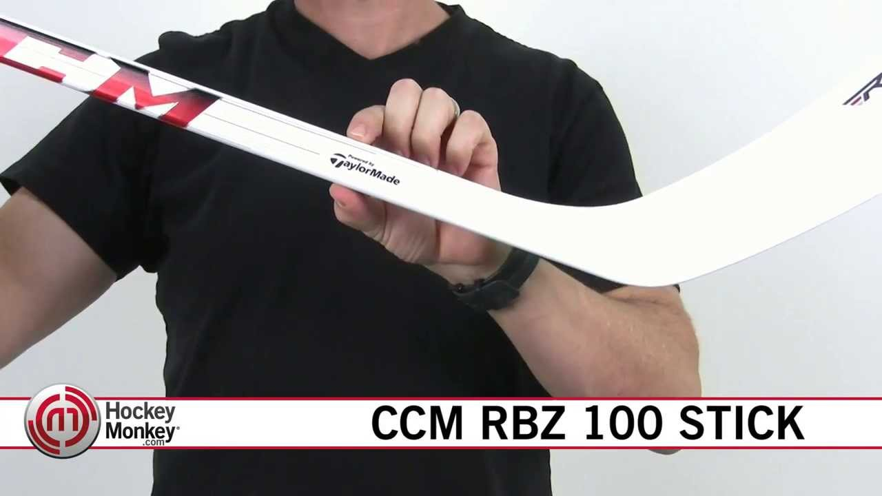 d550529e9f3 CCM RBZ 100 Hockey Stick - YouTube