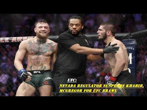 Nevada Regulator Suspends Khabib, McGregor for UFC Brawl | MW NEWS |2018