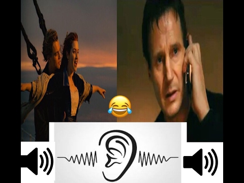 GUESS THE MOVIE FROM THE SOUND !? ( 10 Famous Movie Scenes )