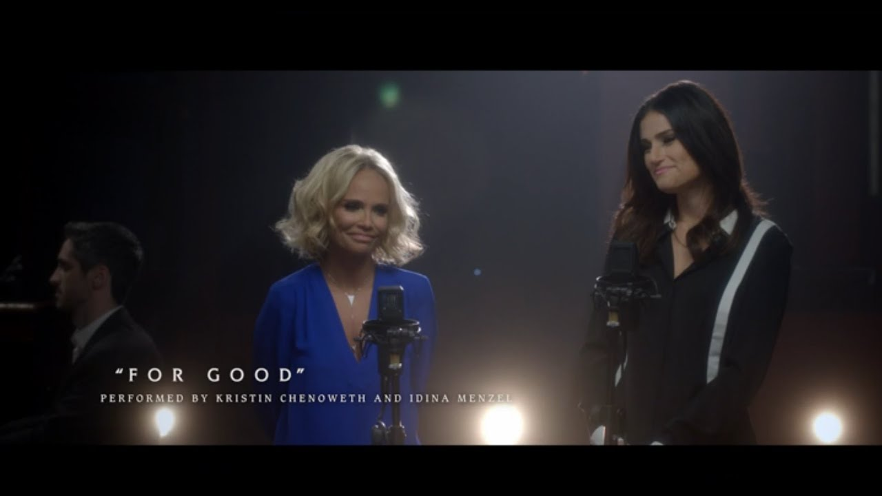 """#OutOfOz: """"For Good"""" Performed by Kristin Chenoweth and Idina Menzel 