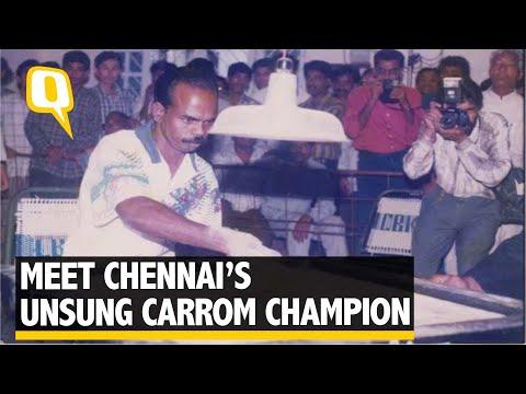 Meet Chennai's Unsung Hero: A World Carrom Champion   The Quint