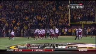 2013 USC vs Missouri - Overtime with Radio Commentary
