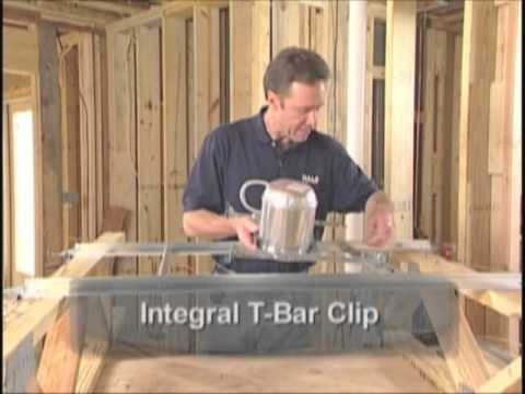 Cooper halo how to install recessed lighting in engineered and cooper halo how to install recessed lighting in engineered and laminated lumber new or old construction youtube mozeypictures Choice Image