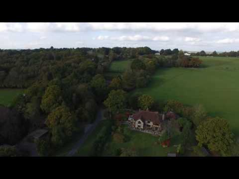 Aerial Video over Hartfield, Ashdown Forest