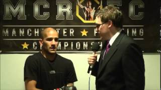 MCR FC 2: Post Fight Interview: Jav Mirza