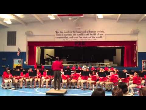 Trent Lott Academy 6th grade band Christmas medley