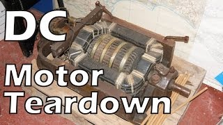 Big DC Motor Teardown