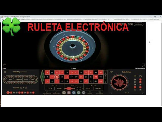 VENCIENDO A LA RULETA ELECTRÓNICA EN EL CASINO ONLINE  ✌️