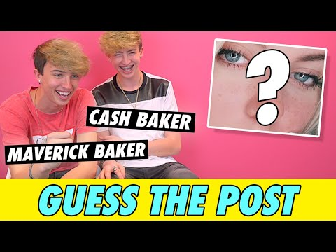 Cash and Maverick Baker - Guess The Post