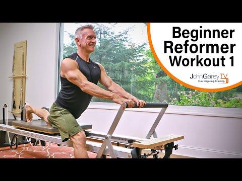 Beginner Pilates Reformer Workout 1 - 15 minutes