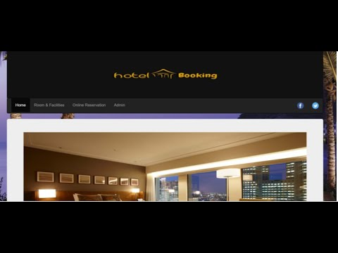 Online Hotel Booking IN PHP, CSS, Js, AND MYSQL | Source Code & Projects