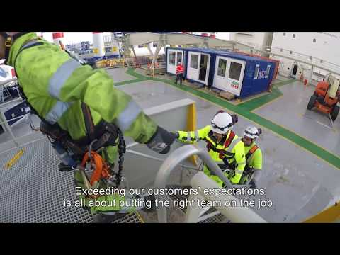 Global Wind Service Offshore Competences