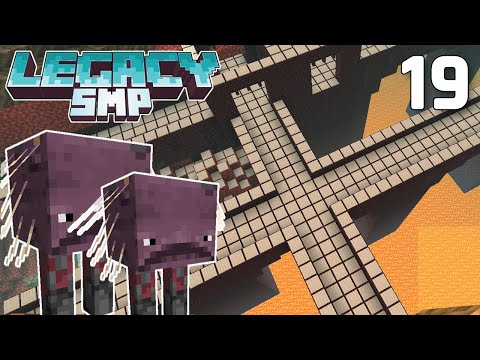 Coating the Nether in Iron - Legacy SMP #19 (Multiplayer Let's Play) | Minecraft 1.16