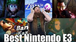 Nintendo E3 2019 Reaction - Breath of the Wild 2! - BANJO IN SMASH! | AlphaOmegaSin