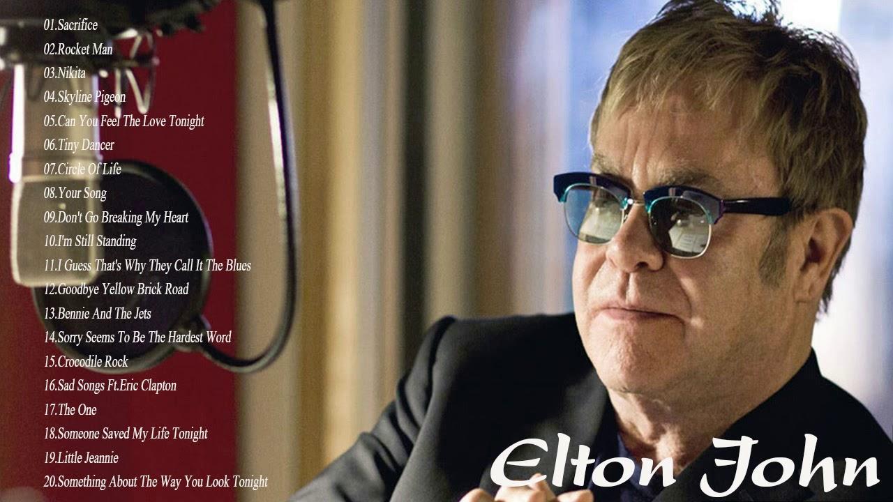 The Very Best Songs Of Elton John Playlist