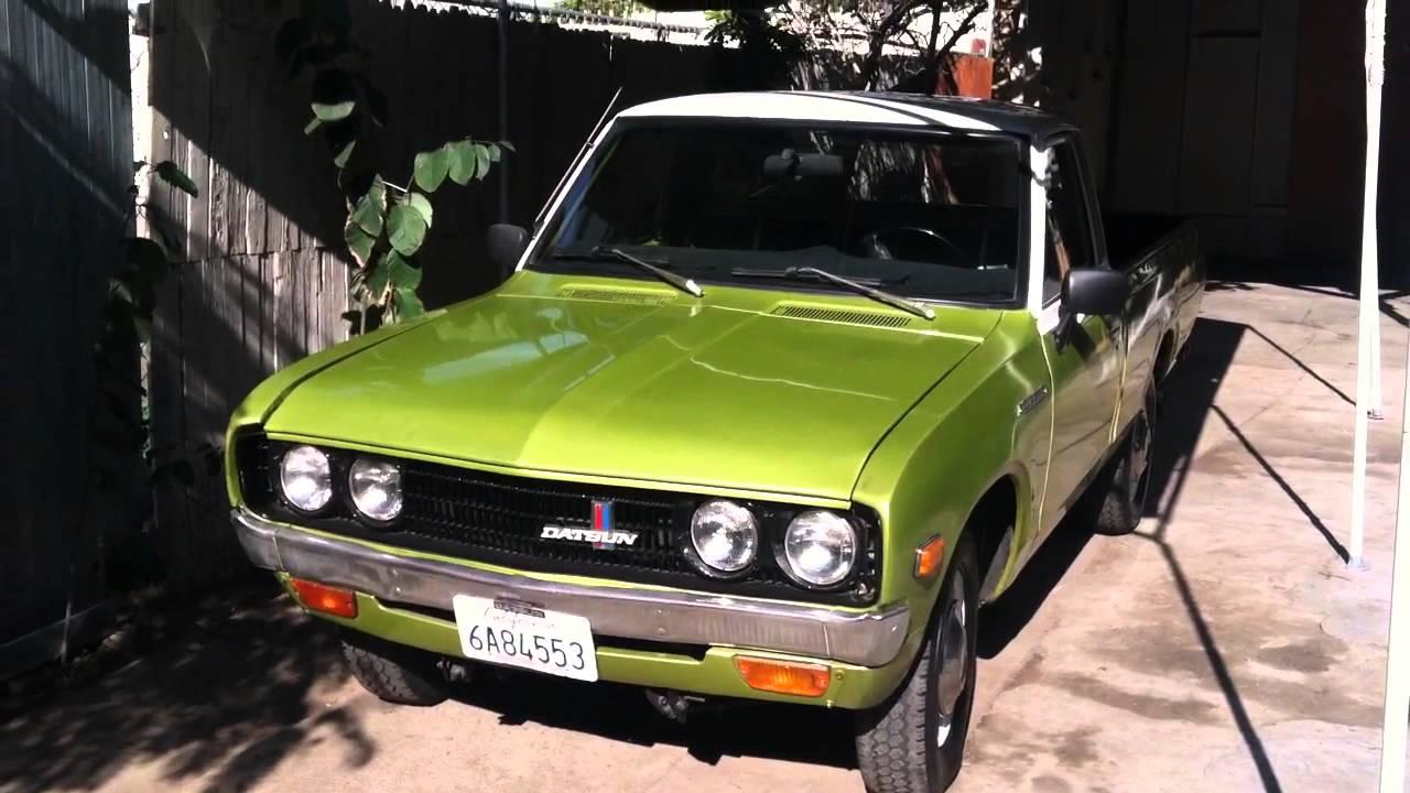 1973 Datsun 620 - YouTube