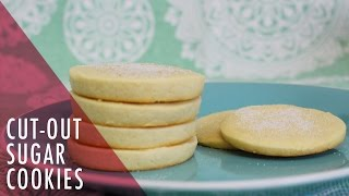 How To Make Cut-out Sugar Cookies. Tasty Delights