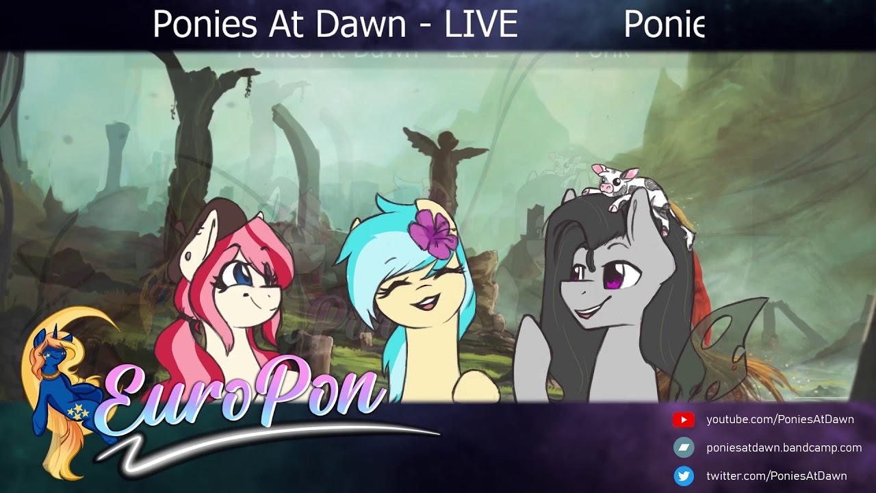 Ponies At Dawn Q&A Panel @ EuroPon 2020 (feat. bank pain, Faulty & Dijit)
