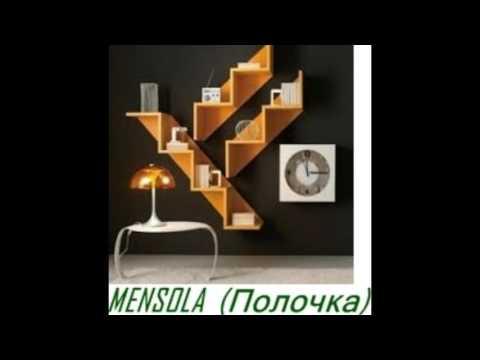 мебель дом на итальянском русском перевод слова Mobili Casa Italiano Russo Traduzione Parole