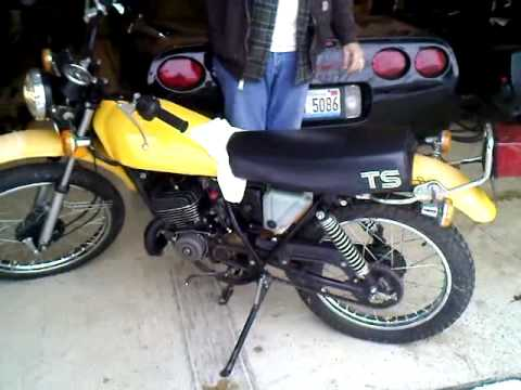 1979 suzuki ts 125 start and run youtube. Black Bedroom Furniture Sets. Home Design Ideas