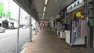 神戸市 宇治川商店街を4K動画で歩き撮り
