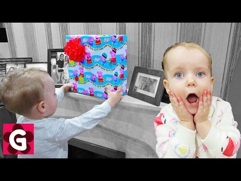 Thumbnail: Two Little Babies Playing Fun Nursery Game for Kids