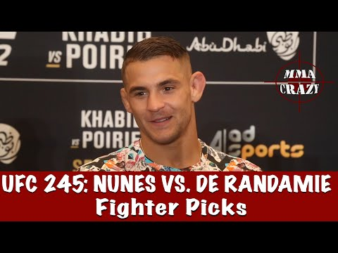 MMA UFC UFC 245: Amanda Nunes vs. Germaine de Randamie Fighter Picks