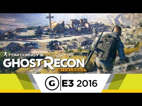 Guns Blazing in 12 Minutes of Ghost Recon Wildlands Gameplay - E3 2016