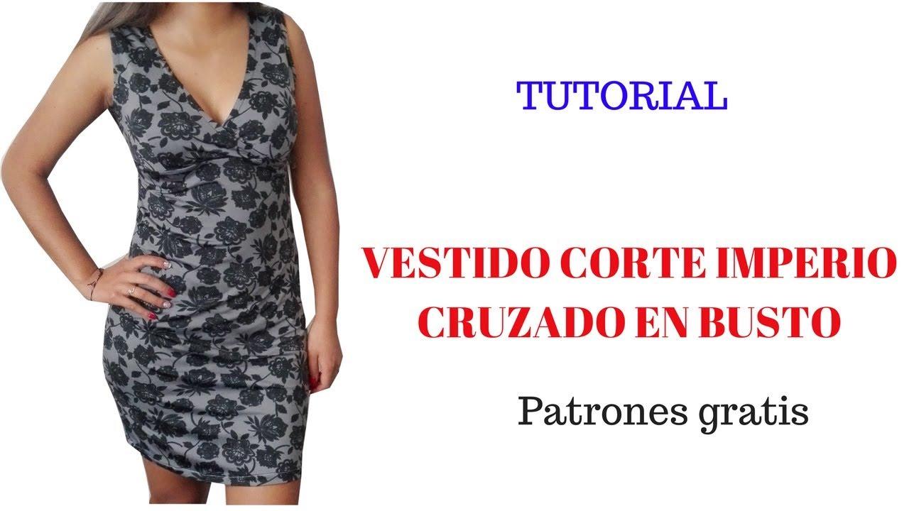 Como hacer un vestido en corte a