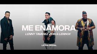 Lenny Tavárez, Zion & Lennox - Me Enamora (Lyric Video) | CantoYo