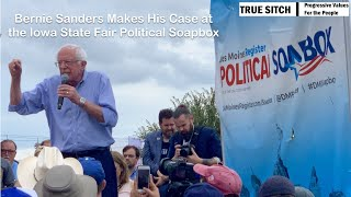 Bernie Sanders at Iowa State Fair August 11, 2019, From YouTubeVideos