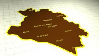 видео краснодарский край карта побережья