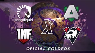 [PT-BR] Liquid vs Alliance & Virtus.Pro vs Infamous The International 9 Dota 2 Fase de Grupo Dia 3