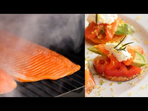 How To Cold Smoke Salmon | Smoked Salmon Crackers Recipe | BBQGuys.com | Traeger Pellet Grill