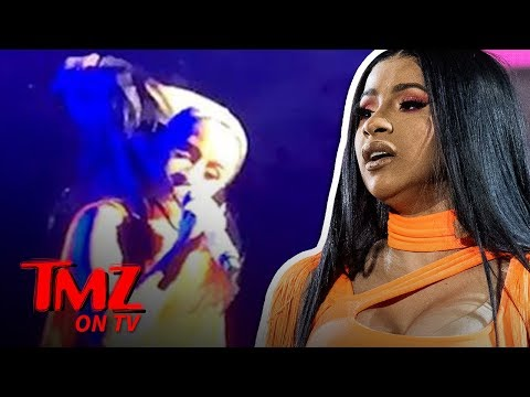Cardi B Rips Off Wig During Concert at Wireless Festival | TMZ TV Mp3