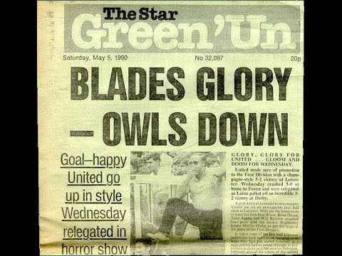Blades Glory, Owls Down - May 5th 1990, The Ultimate Sheffield Double