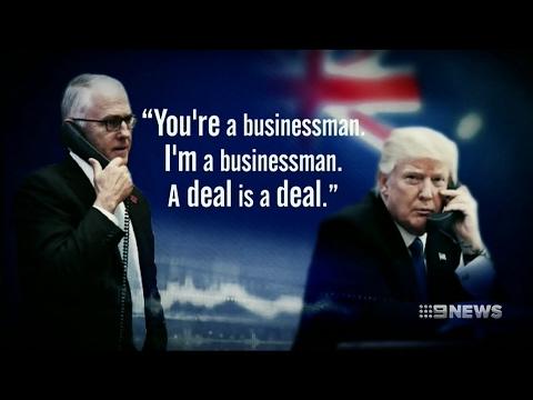 Laurie Oakes: Trump v. Turnbull   2 Feb 2017