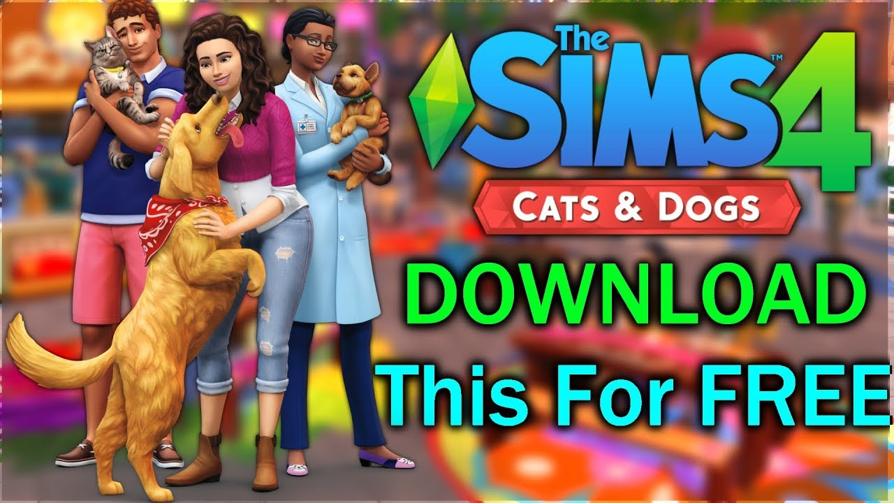 Sims  Free Cats And Dogs Dlc