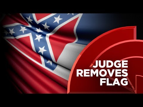 Black Mississippi Judge Removes State Flag With Confederate Emblem From Courtroom