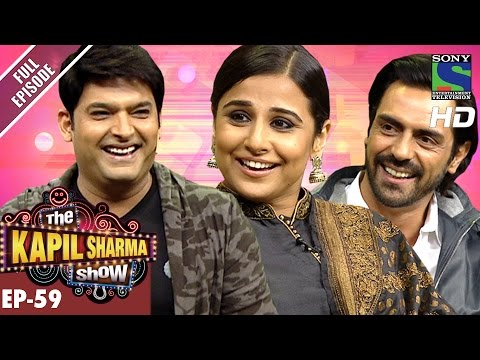 The Kapil Sharma Show - Episode 59–दी कपिल शर्मा शो–Vidya And Arjun In Kapil's Show–12th Nov 2016