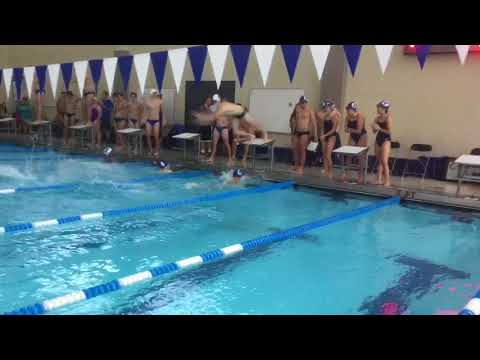 Men's 200 Free Relay - Illinois Quad Meet 2017