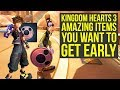 Kingdom Hearts 3 Tips And Tricks - AMAZING ITEMS You Want To Get Early (Kingdom Hearts III Tips)