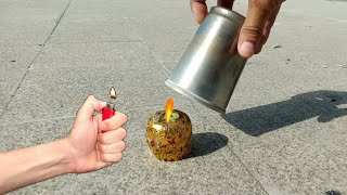 Matka Anar vs Steel Glass Experiment Shocking Result | Crackers Experiment in Hindi