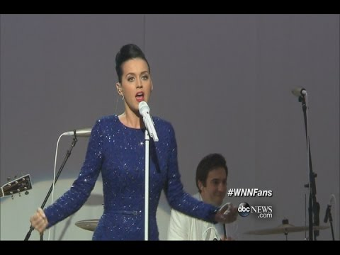 SKINNY: Katy Perry Performs At The White House