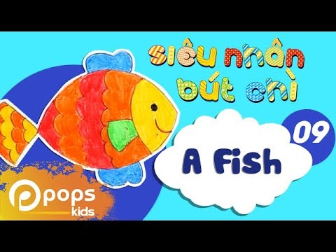 Hướng Dẫn Vẽ Con Cá [Official] - How To Draw A Fish