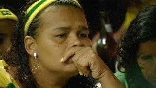 Trauer muss Brasilien tragen...