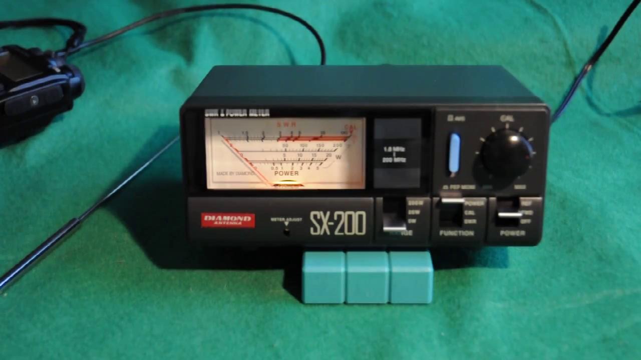 SX40//RX40 Amateur Ham Radio Vhf//uhf Swr medidor de potencia de 140 a 525MHZ