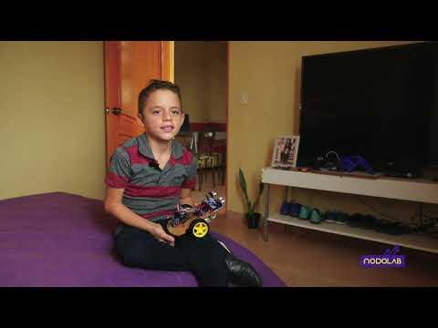 🤓 Aprende robótica desde casa, conoce el testimonio de José David - #LABORATORIOS REMOTOS #UTPL